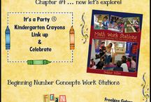 Math Stations Ideas from Book Study