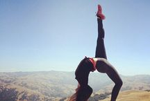 #full wheel pose, with a gorgeous view !#