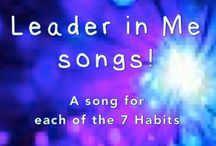 "The Leader in Me / Resources to help implement Stephen R.Covey's ""Leader in Me' 7 Habits"