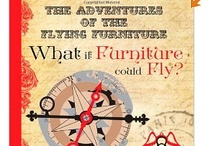 """Books Worth Reading / """"What if Furniture Could Fly?"""" is a whimsical account of the power of imagination. An aspiring young pilot and canine companion chase a fantastic flotilla of flying furniture and colorful hot air balloons against the backdrop of late 19th century Paris. Let your dreams take flight and think, """"what if?"""" Be prepared to soar to amazing heights with this new series written and illustrated by artist Ryan McCutcheon. A multi-faceted creative experience, with books, games, adventures and art."""