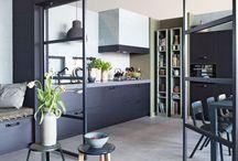 Keuken klein huis