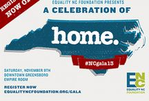 #NCGala13  / The biggest Equality event of the year will take place in Greensboro, NC, on Saturday, November 9!  Join us by registering here today:https://equalityncfoundation.org/gala/attend  / by Equality NC