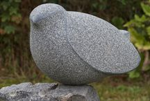 Own sculptures. Jens Ingvard Hansen / My own sculptures