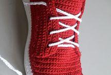 Botines crochet