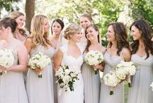 The Bridal Party / Bridal Party Poses and Ideas