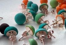 Clay earings