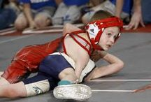 Kids wrestling program