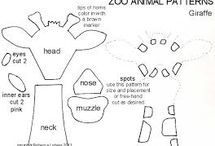 giraffe/zoo animals