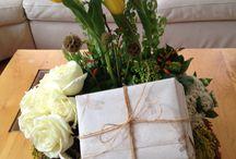 Diseños de ocasion / Se elaboran diseños florales para cualquier tipo de ocasión (agradecimiento, día de las madres, cumpleaños, felicitaciones, 14 de febrero, etc). A continuación se muestran algunas ideas pero el producto se realiza tal cual lo pida el cliente.