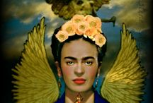 art frida / What is it about Frida Kahlo that inspires such love?  / by Rowena Murillo