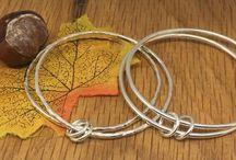 Children's handmade silver jewellery / Handmade silver jewellery for children