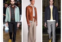 Men's Spring Summer Trends / Spring Summer Men's Fashion trends - S/S 15, S/S 16 and archive S/S '14 Styles