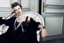 Editorials & Vintage Adverts / A collection of on-trend jewelry editorials & vintage advertisements.