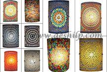 Mosaic Wall Lamp