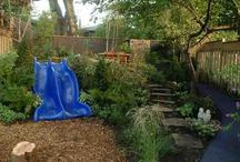 Outdoors - playscape / Garden and DIY projects for the kids / by Jess Guest