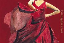 Pintura Danza