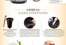 Coffee - How to clean  a Keurig Coffee Maker