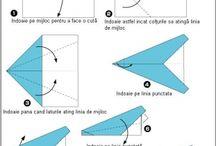 avioane de hârtie
