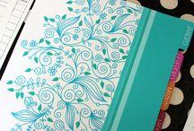 Planners / Organize seu dia de forma visual com os famosos planners