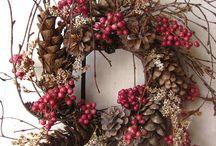 wreaths /naturecrafts