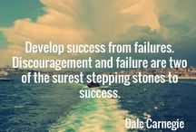 Inspiration for Success / Quotes to inspire you and your employees to do achieve more.