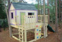 Kids Playhouses / by Kristy Crawford