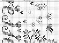 Punto croce/ cross stitching