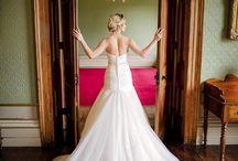 Rise Hall Wedding Dress Photoshoot