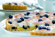 ovocné koláče a buchty