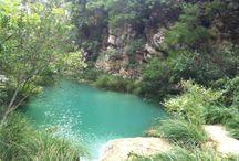 ΠΟΛΥΛΙΜΝΙΟ ΜΕΣΣΗΝΙΑΣ / Στον Νομό Μεσσηνίας, στην κοινότητα Χαραυγή του Δήμου Μεσσήνης, βρίσκεται το Πολυλίμνιο, ένα σύμπλεγμα από πολλές λίμνες οι οποίες λόγω του ανώμαλου εδάφους δημιουργούν Λίμνες και καταρράκτες. http://www.eleftheriaonline.gr/polymesa/nature/item/43343-polylimnio