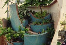 Trädgård / Trädgårds idéer