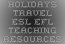 Travel Lesson Ideas