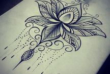 dibujos creativos para tatuaje