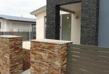 Edgepoint Homes / Stacked Stone featured at the new Edgepoint Homes townhouse project in Safety Beach, Victoria.