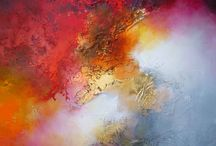 Large Canvas Abstract