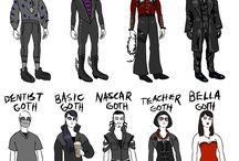 9 types of goth that need to exist