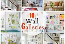 For the walls / I love gallery walls! / by Bernice @ TheStressedMom.com
