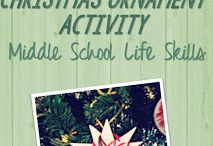 SLP: Christmas Themed Activities / Christmas Themed Speech Therapy Activities. Worksheets, materials, free, printable, games and ideas for Speech Language Pathology in Schools.