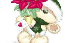 Ositos de peluche navideños