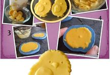 Easter Cookie Molds / Edible candy stands for cookies