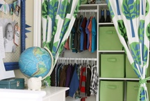 Kid's Rooms | Boys / Great ideas and solutions for decorating your boys room / by Marker Girl | Karen Davis