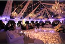 Modern Wedding and Event Designs / Industrial, mid century, chic modern wedding and event design decorations inspiration.
