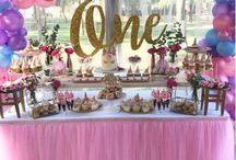 First birthday sweet table ideas