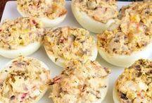 Mil huevos rellenos