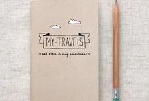 Cuadernos de viaje bitacoras
