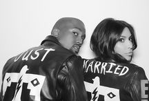 Kim Kardashian and Kanye Couple