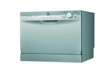 Lavavajillas 6 cubiertos Indesit -  ICD 661 EU / Indesit introduce en el mercado su nuevo lavavajillas compacto de 6 cubiertos: un aparato de apenas 44cm de alto, 55cm de ancho y 52cm de fondo, que puede colocarse fácilmente en cualquier sitio. http://www.indesit.es/electrodomesticos_i/Lavavajillas_ICD_661_EU/pid_F075298SP/45.do