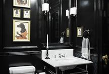 bathroom / large bathroom -  combination of modern and vintage style