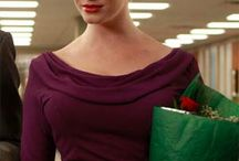 Joan / This is a board dedicated to clothes I want to make, stolen from Joan Holloway's personal wardrobe. / by Grundoon