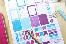 Planner Stuff / A moda do planner chegou aqui também e está ajudando MUITO a minha vida!